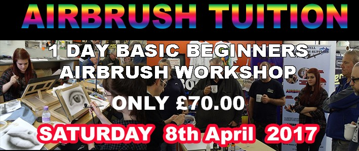 Basic airbrush Workshop 2017